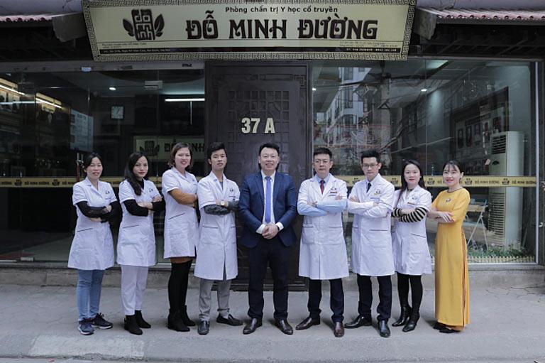 Đội ngũ lương y, bác sĩ tại nhà thuốc Đỗ Minh Đường cơ sở Hà Nội
