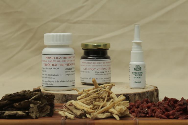 Liệu trình đầy đủ bài thuốc điều trị viêm xoang, viêm mũi dị ứng Đỗ Minh