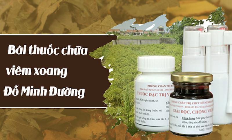 Sản phẩm thuốc Đông y Đỗ Minh Đường