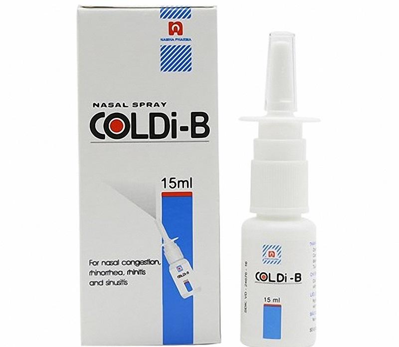 Thuốc điều trị viêm xoang cấp Coldi-B