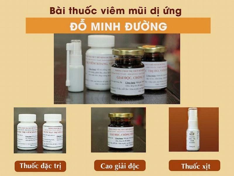 Thuốc chữa viêm mũi dị ứng Đỗ Minh Đường