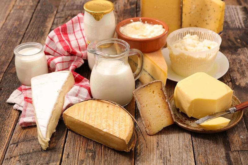 Các chất có trong sữa sẽ thúc đẩy quá trình sản xuất chất dịch nhầy
