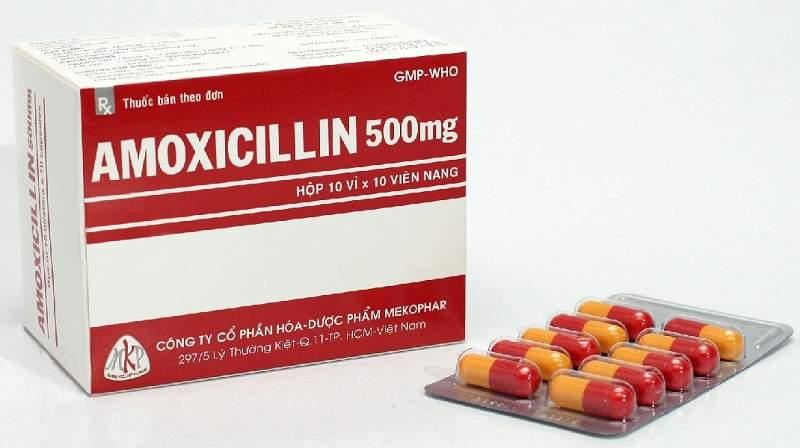 Amoxicillin là thuốc chữa viêm mũi dị ứng rất hiệu quả