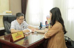 Lương y Tuấn là người trực tiếp thăm khám cho chị Châu