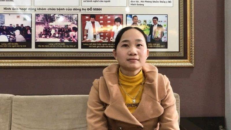 Chị An Thị Dân - Bệnh nhân viêm xoang 14 năm tin tưởng điều trị tại nhà thuốc