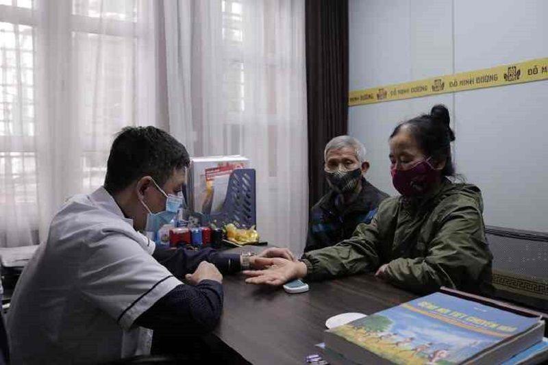 Cô Sình tái khám tại nhà thuốc Đỗ Minh Đường