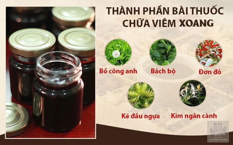 Một số vị thảo dược quý có mặt trong bài thuốc điều trị viêm xoang của nhà thuốc Đỗ Minh Đường