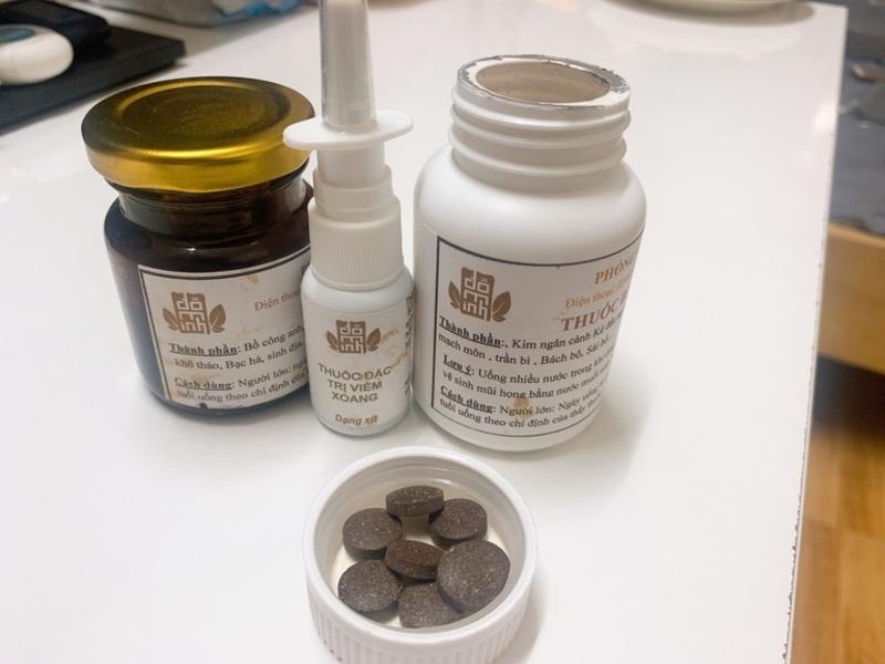 Cả 3 loại thuốc của liệu trình Viêm mũi dị ứng Đỗ Minh Đường đều có thể sử dụng rất nhanh gọn